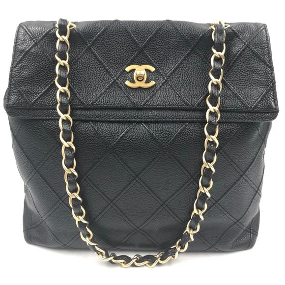 CHANEL Handbags - ❤️SOLD❤️ Chanel Caviar Leather Shoulder Bag